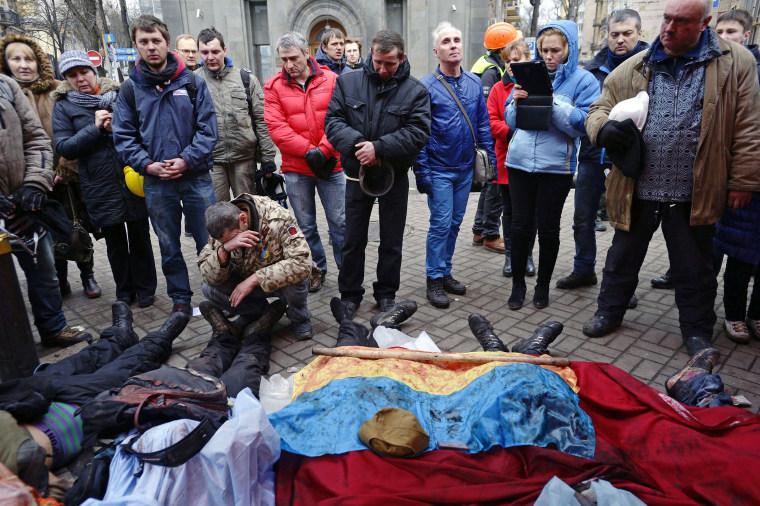 Image: Riots in Kiev