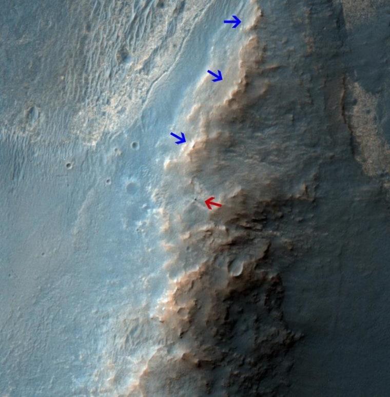 Image: Martian landscape