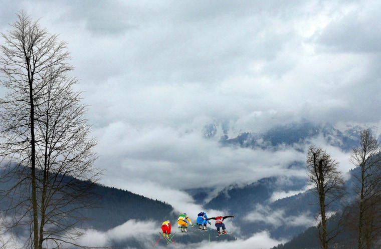 Image: Freestyle Skiing - Winter Olympics Day 14