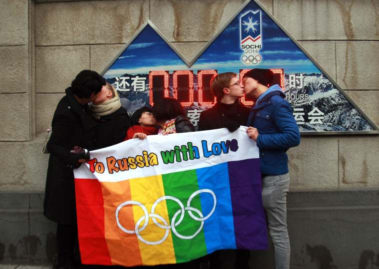 Image: CHINA-RUSSIA-GAY-RIGHTS-HOMOSEXUALITY