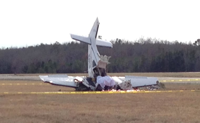 Image: Plane crash in LaGrange, Ga.