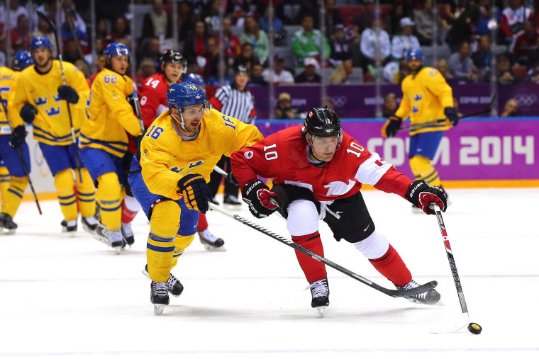 Image: Ice Hockey Gold Medal - Sweden v Canada