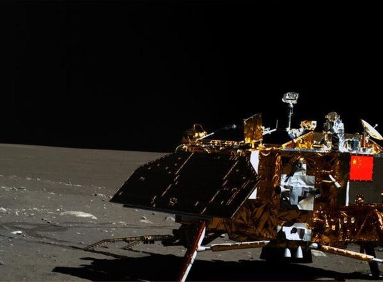 Image: Chang'e 3 lander