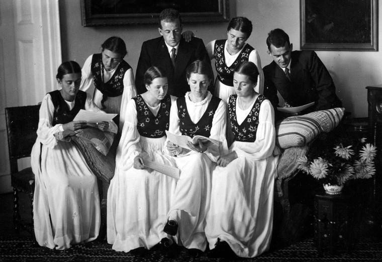 Image: Von Trapp family