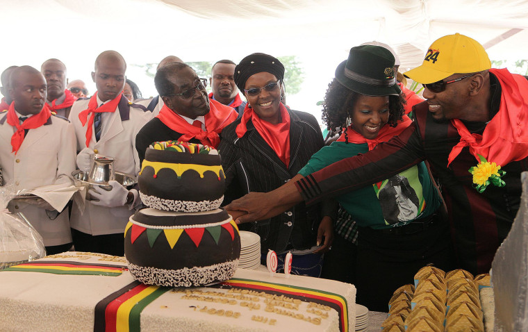 Zimbabwe's Mugabe Celebrates 90th Birthday With $1M Party