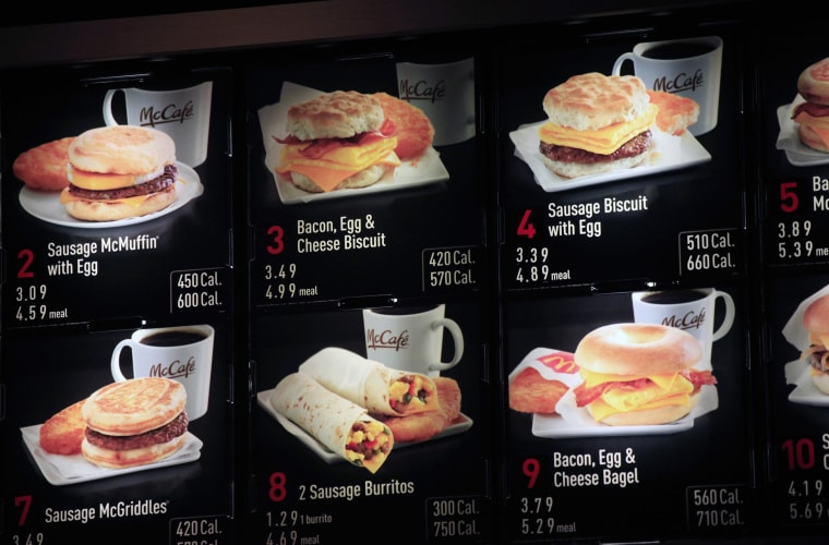McDonald's breakfast menu may not be just for early birds anymore.