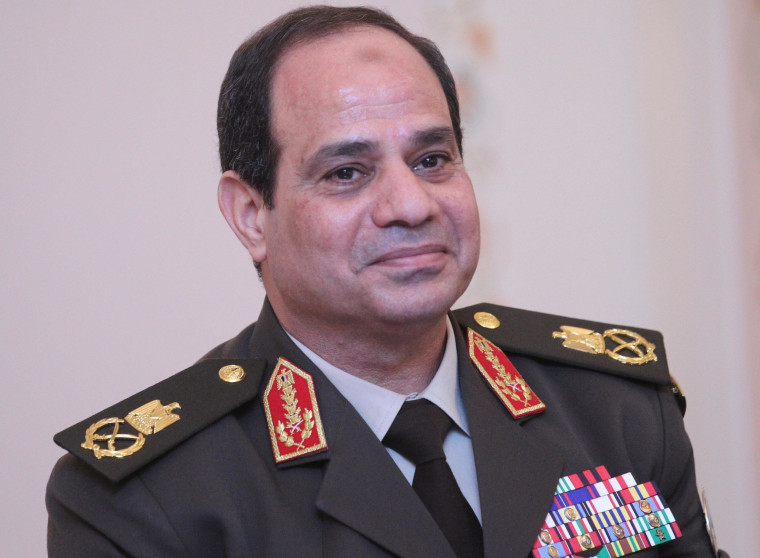 Image: Egypt's Military Chief Visits Moscow