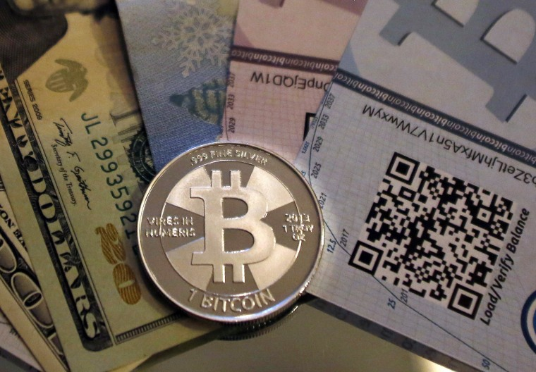 Image: A physical bitcoin created by Mike Caldwell