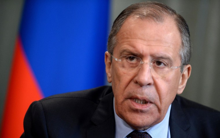Image: Russia's Foreign Minister Sergei Lavrov