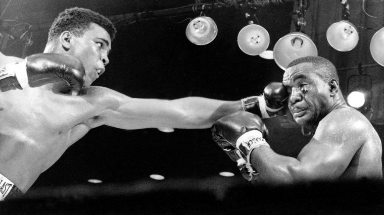 "Cassius Clay versus Charles \""Sonny\"" Liston"