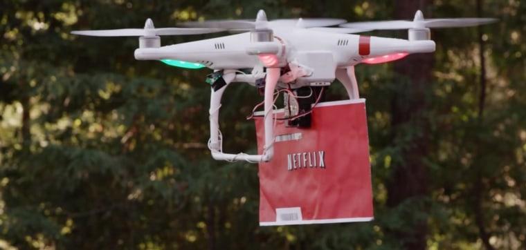 Image: Netflix drone