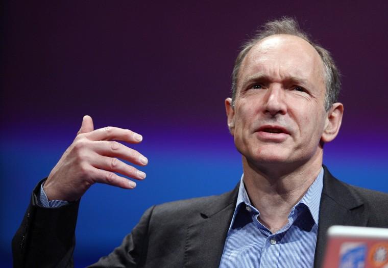 Image: British computer scientist Tim Berners-Lee