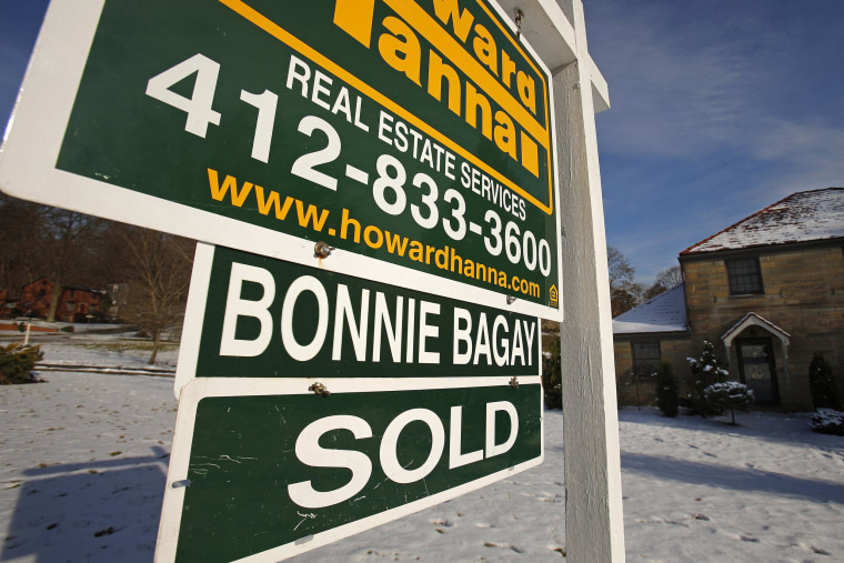 New home sales hit their highest level in January for more than five years