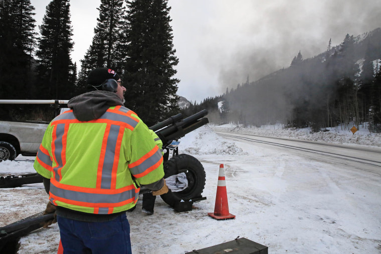 Series of Snowstorms Trigger Monster Avalanches in West