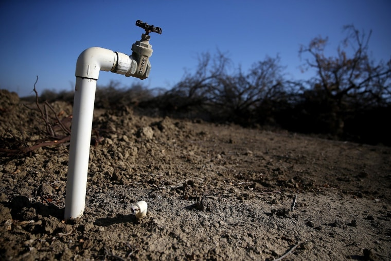 Image: Statewide Drought Forces Californians To Take Drastic Measures For Water Conversation