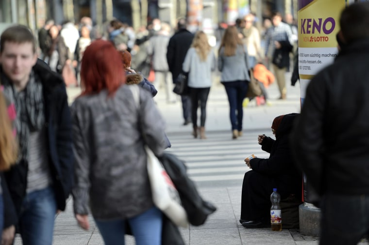 Germany's Wealth Distribution Most Unequal in Euro Zone: Study
