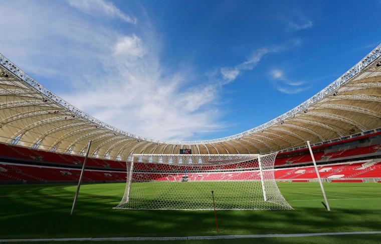 Image: Beira-Rio Stadium in Porto Alegre, Brazil