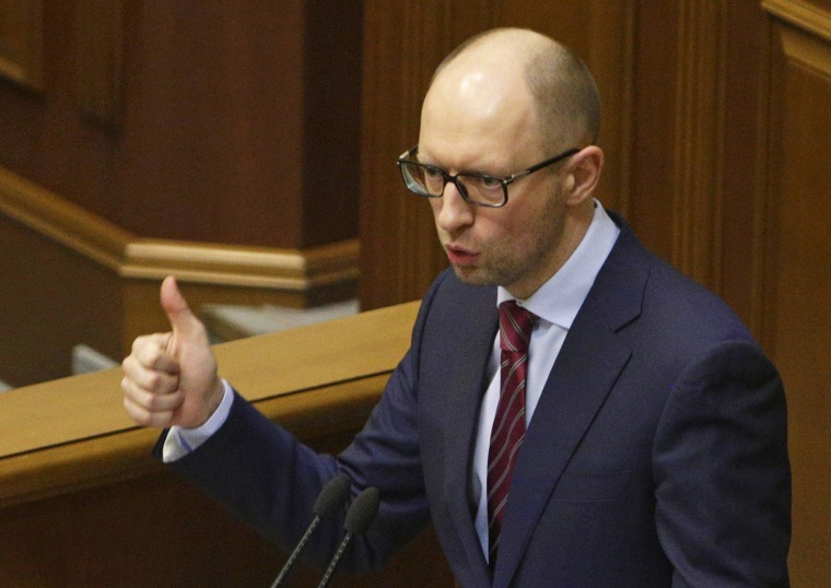 New Ukrainian Prime Minister Arseny Yatseniuk accuses ousted government of looting state coffers of $70 billion.