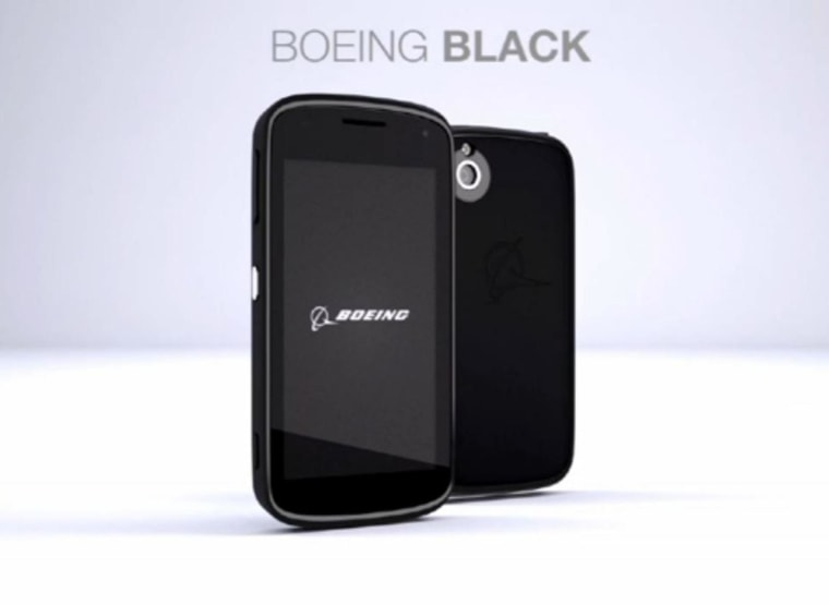 Image: Boeing's tamper-proof phone is aimed at government agencies and contractors who need to keep communication and data secure, according to Boeing and filings with the U.S. Federal Communications Commission.