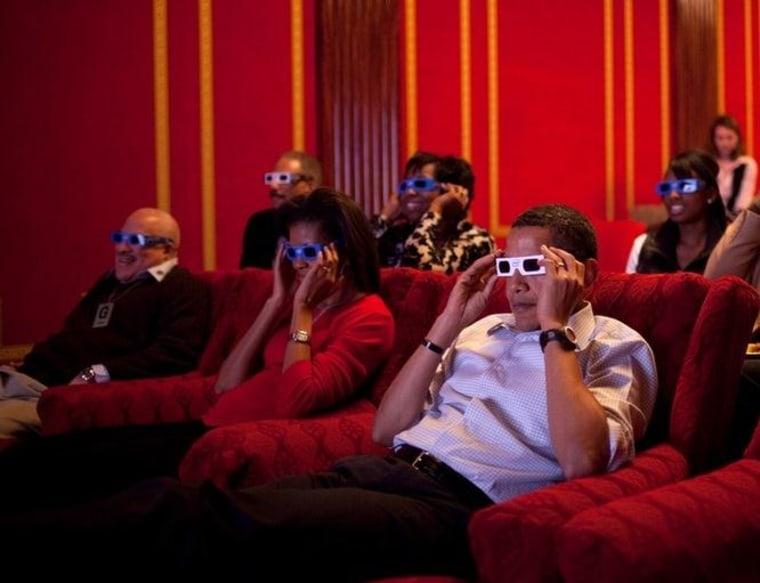 Image: White House watching