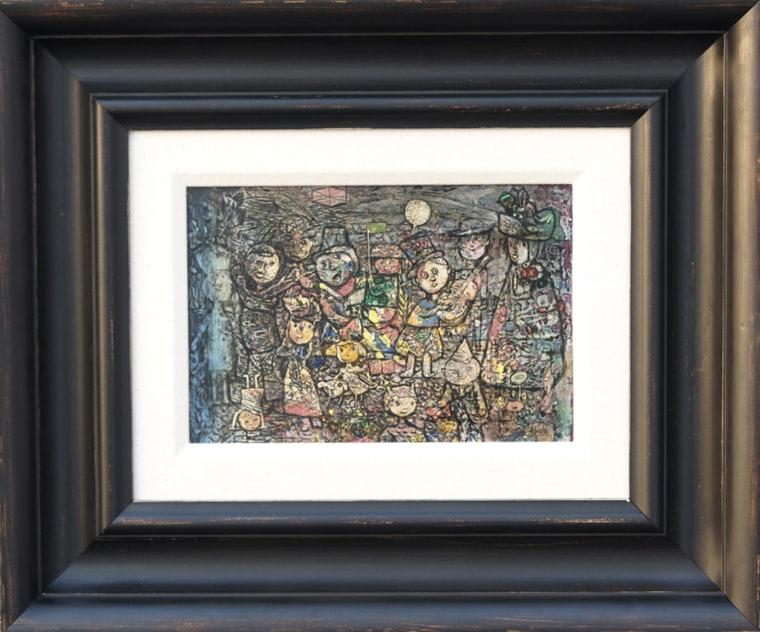 """Cuban artist Eduardo Abela's """"Carnaval Infantil"""" was stolen from the National Museum of Fine Arts in Havana and sold to a dealer in Miami."""