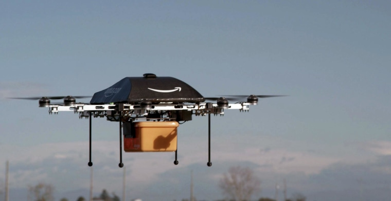 Amazon CEO Jeff Bezos: We're Getting Closer to Delivery by Drone