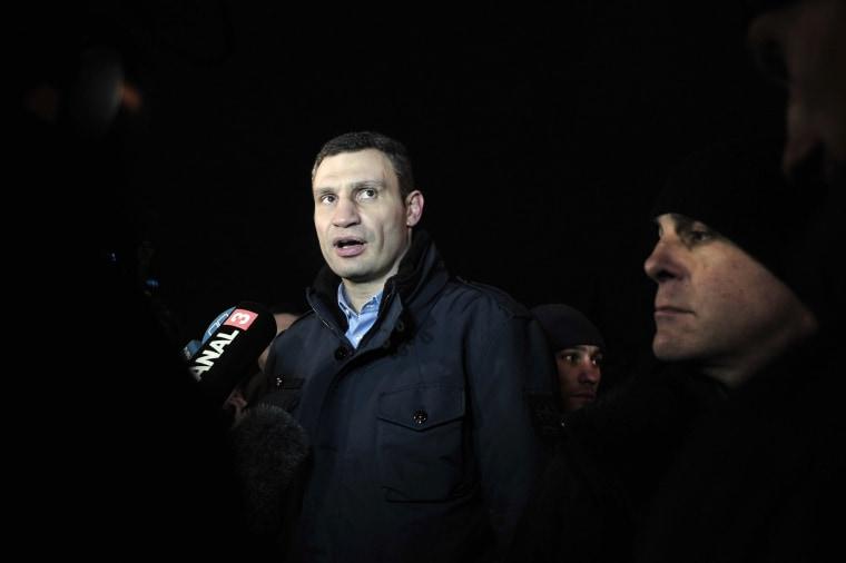 Image: UKRAINE-POLITICS-UNREST
