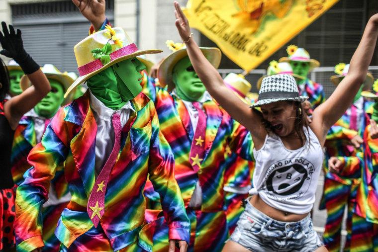 Image: Carnival in Rio de Janeiro