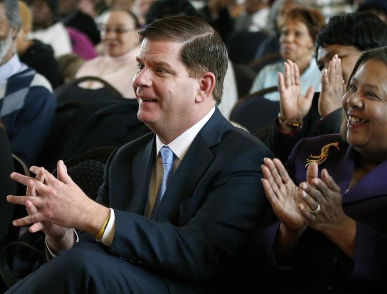 Image: Boston Mayor Martin Walsh