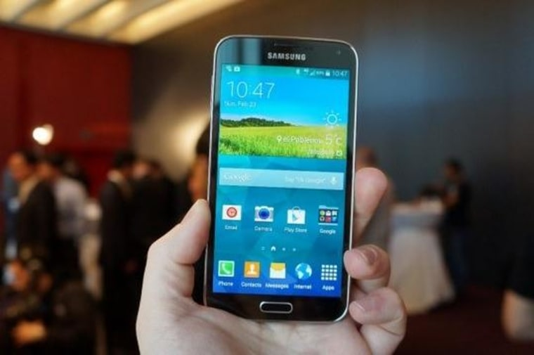 Image: Samsung Galaxy S5 Shipping