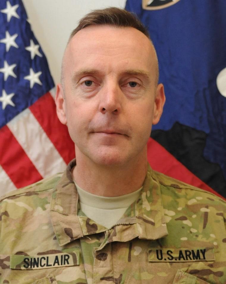 Image: Brigadier General Jeffrey Sinclair