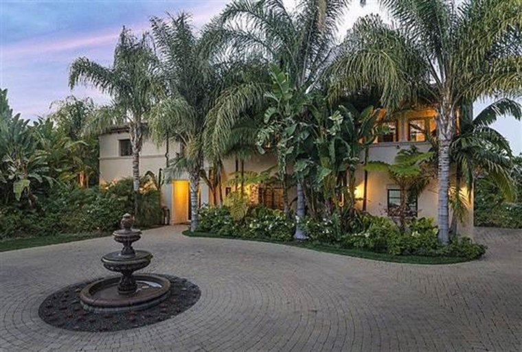Image: The home belonging to Khloe Kardashian and Lamar Odom
