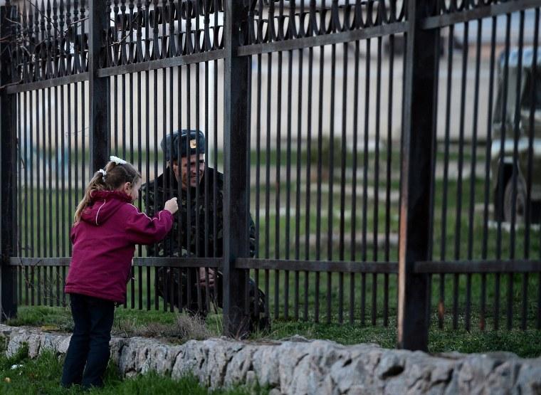 Image: TOPSHOTS-UKRAINE-UNREST-POLITICS-EU-RUSSIA-CRIMEA