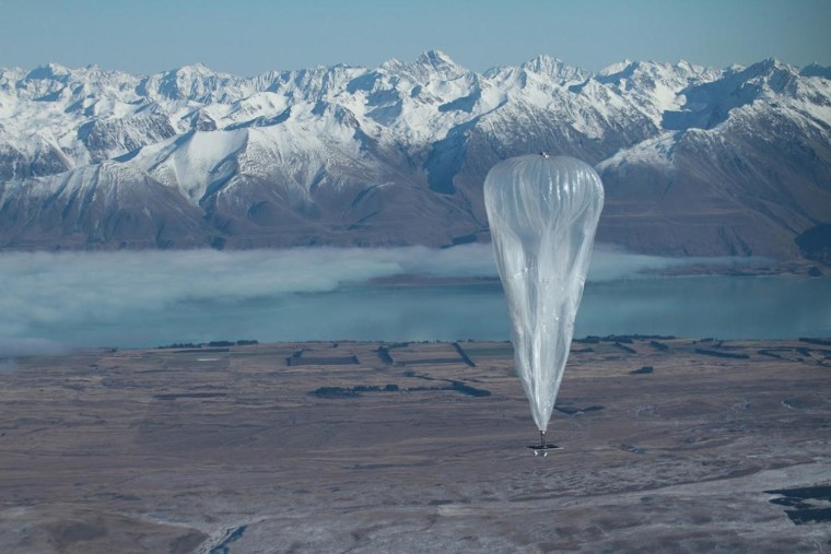 Image: Project Loon balloon