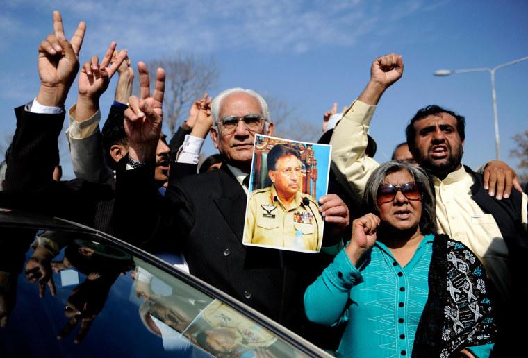 Image: Pervez Musharraf's lawyer Ahmed Raza Kasuri