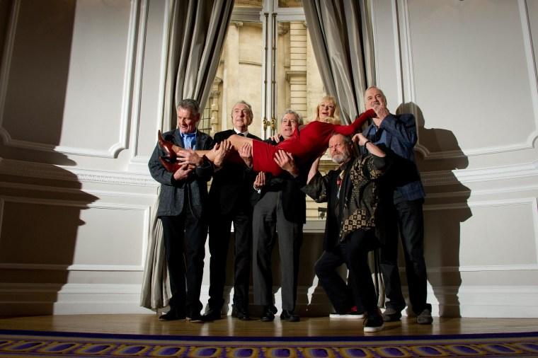 Image: British comedy troupe Monty Python on Nov. 21, 2013