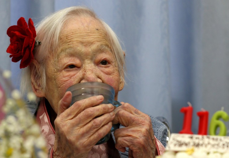 Image: World's Oldest Japanese Woman Turns 116