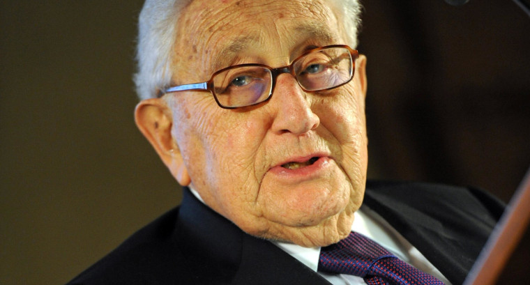 Henry Kissinger at an international security conference in Munich, Germany, in February 2014.