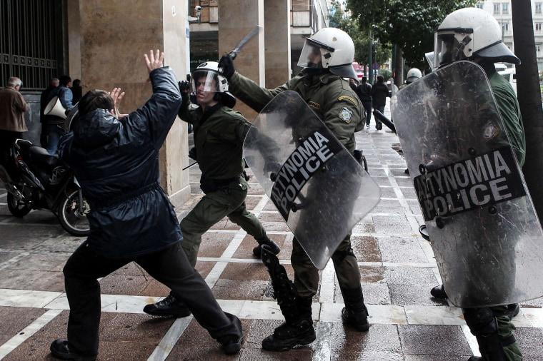 Image: GREECE-ECOMOMY-DEMO