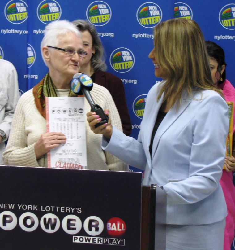 Emma Duvoll, 75, won a $2 million jackpot with numbers from a fortune cookie.