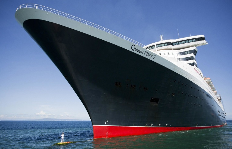 Image: INDONESIA-TRANSPORT-QUEEN MARY