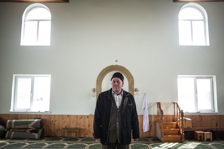 Yakub Nematulayev is the imam of the mosque in Stroganovka, a Tatar community of about 1,000 families just outside of Simferopol, Ukraine.
