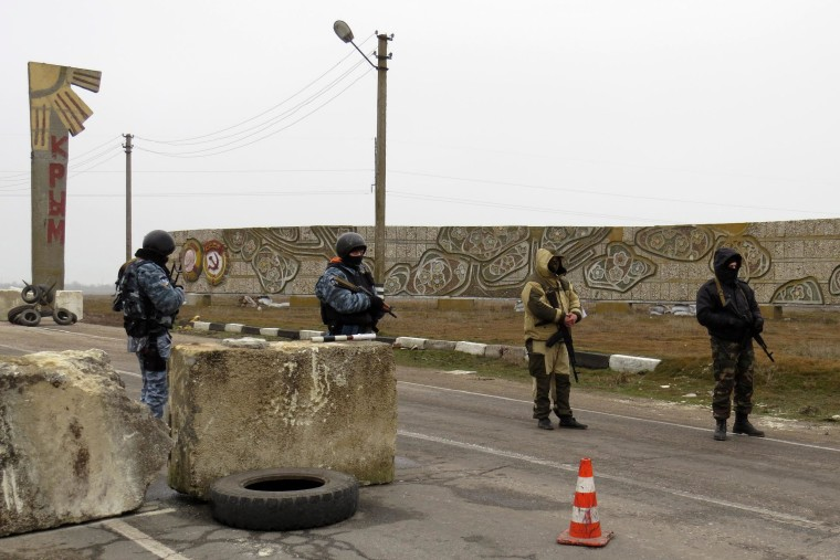 Image: OSCE observers turned away at checkpoint