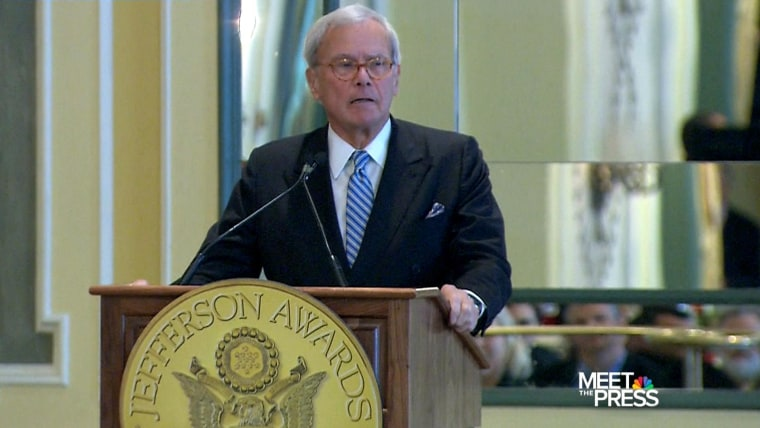 NBC News' Tom Brokaw is among 19 recipients of the 2014 Presidential Medal of Freedom.