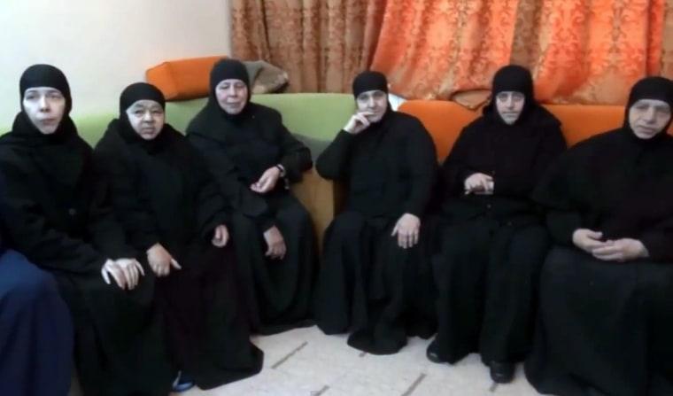 Image: SYRIA-CONFLICT-MAALULA-CHRISTIANITY-RELIGON
