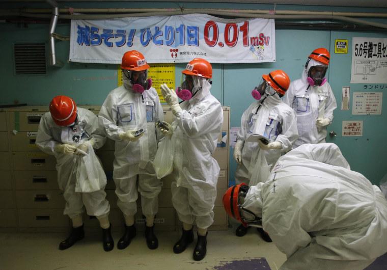 Image: JAPAN-NUCLEAR-DISASTER-TSUNAMI-FUKUSHIMA