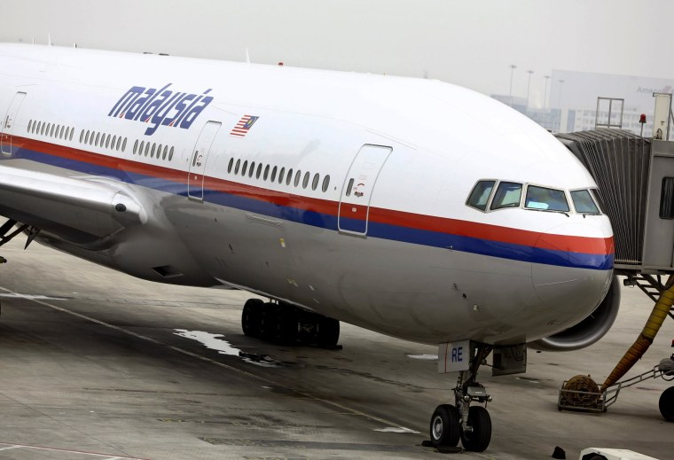 Image: Search underway for Malaysia Airlines jet