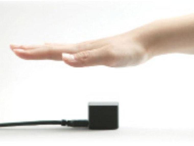 Image: Fujitsu's PalmSense scanner