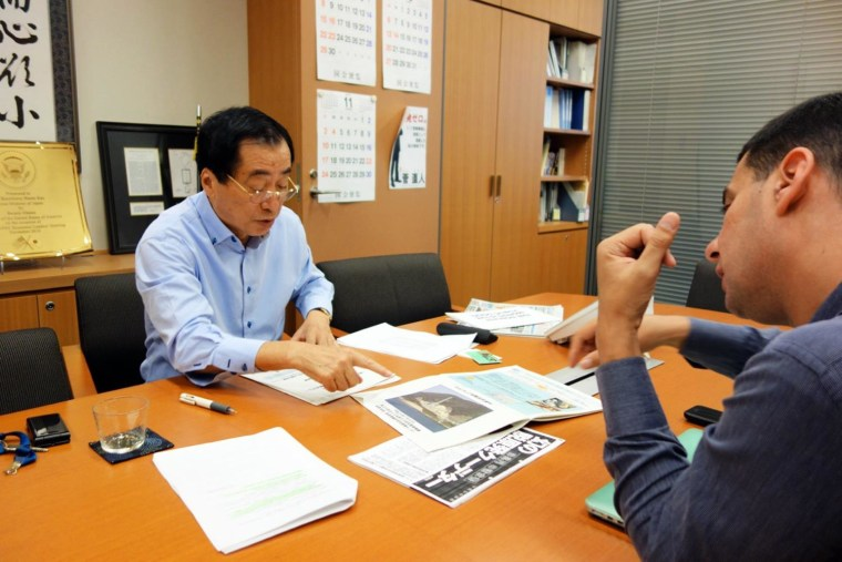 Image: Naoto Kan, Japan's prime minister during the Fukushima nuclear disaster