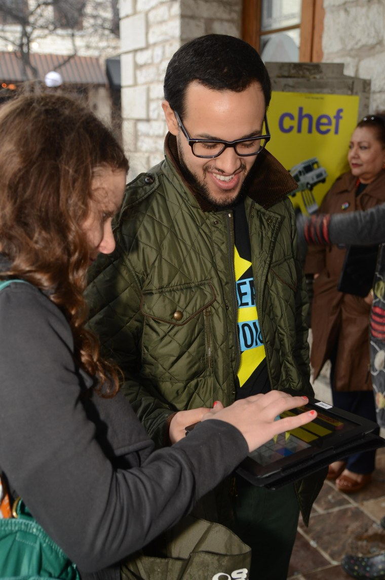 At SXSW in Austin, Texas, Voto Latino and Rock the Vote launched TrendUrVoice, an online voter registration campaign.